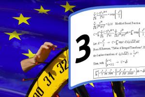 Il 3? Come si fosse usata la ruotaa della fortuna delle sagre, poi gli economisti hanno sfornato tante teorie per giustificare quella cifra.