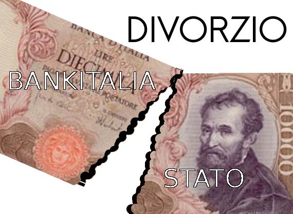 Il divorzio fra Bankitalia e Tesoro